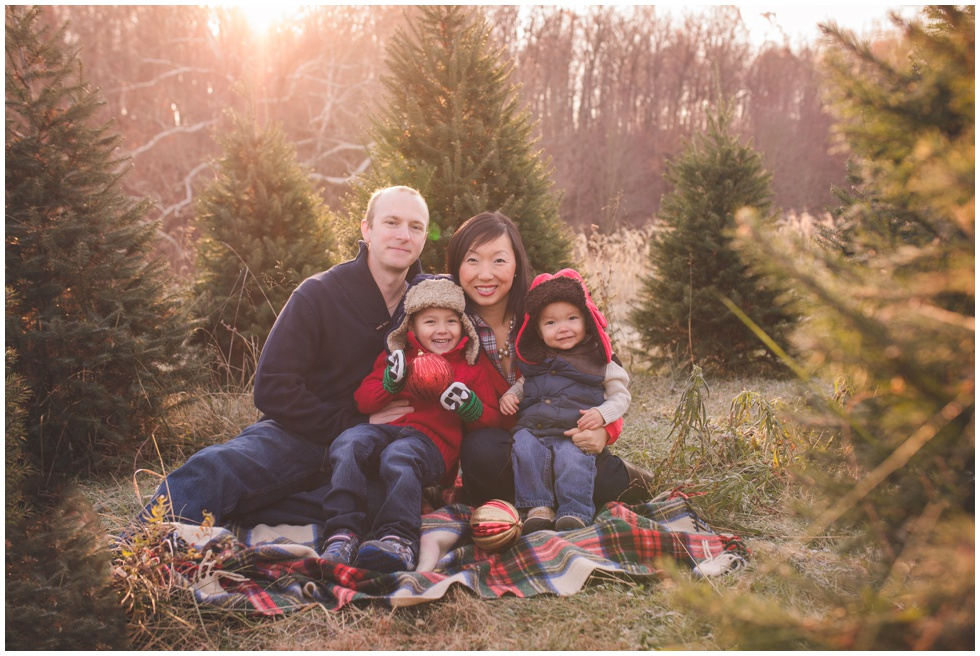 Baltimore Fall Family Photography | Christmas Tree Farm ...