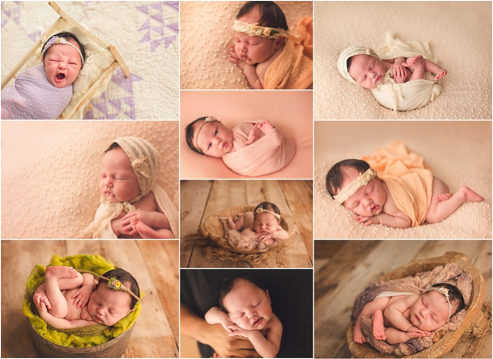 Newborn photography mentoring baltimore dc frederick posing workshop studio light